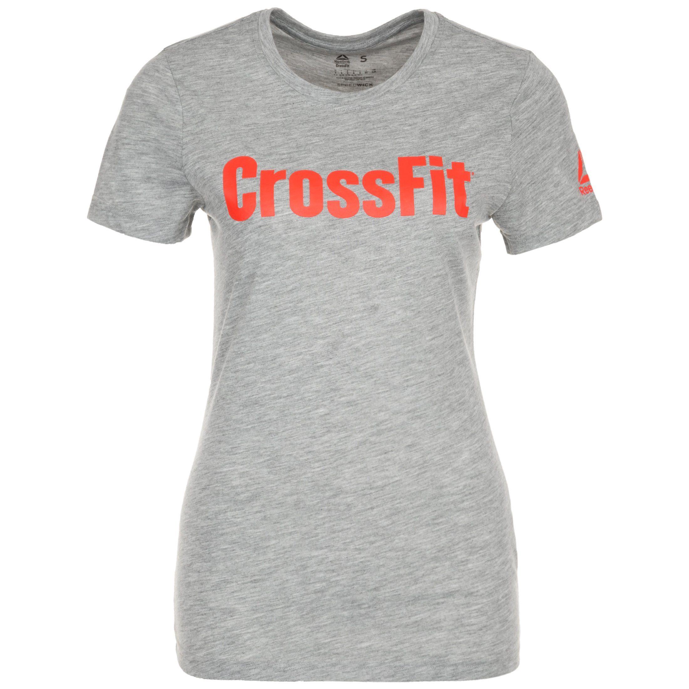 Reebok Trainingsshirt Speedwick Fef | Sportbekleidung > Sportshirts | Grau | Reebok