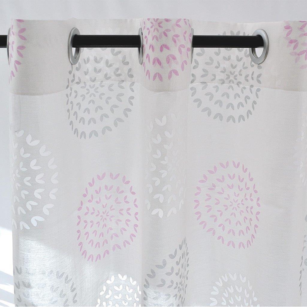 Kutti Vorhang »Bella«, mit 8 silbernen Ösen