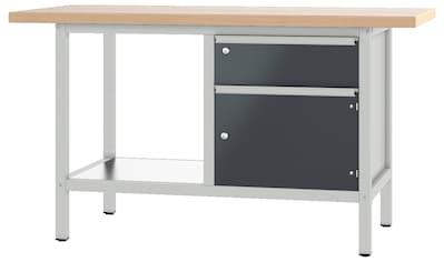 PADOR Werkbank »21 S 02/15 R«, Höhe: 85,5 cm kaufen