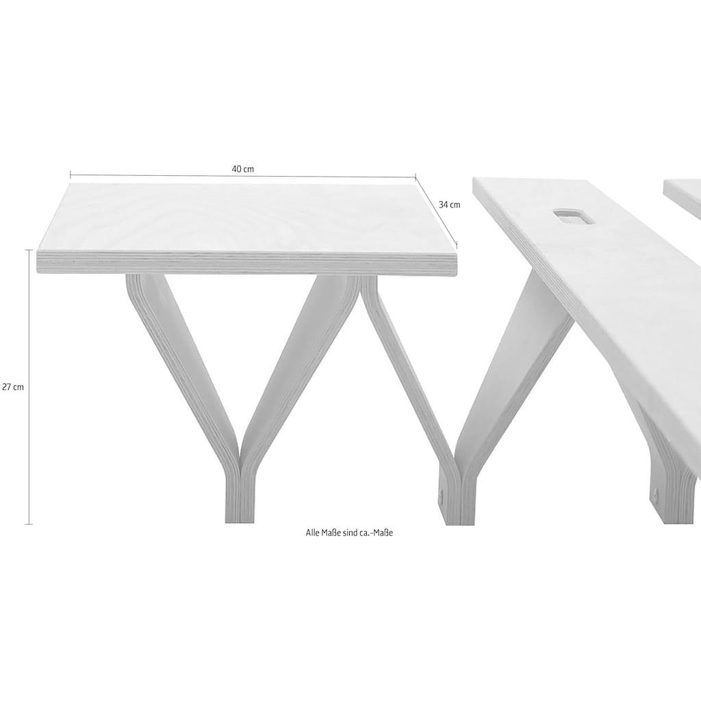 Tojo Nachttisch »lieg-Nachttisch«, Breite/Tiefe: 40/34 cm