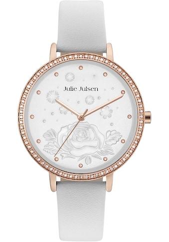Julie Julsen Quarzuhr »Winterrose Rosé White, JJW51RGL - 9« kaufen