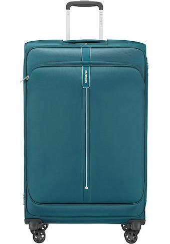 Samsonite Weichgepäck-Trolley »Popsoda, 78 cm, teal«, 4 Rollen kaufen