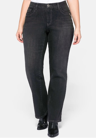 Sheego Bootcut-Jeans, VERENA mit Catfaces kaufen