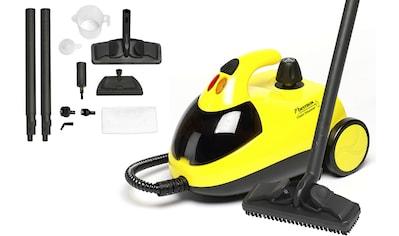 bestron Dampfreiniger »DWJ5280 mit Zubehör-Set«, und Kindersicherung, Kapazität: 1,5 l, Aktionsradius: 10 m, 4 Bar, Gelb kaufen