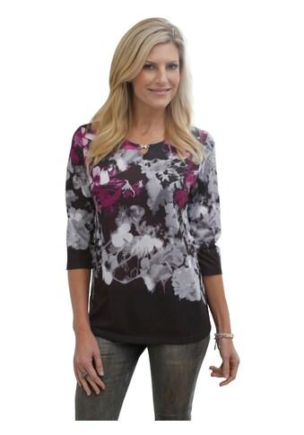 Classic Basics Shirt mit prächtigen Blumen - Muster kaufen