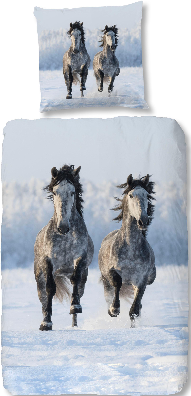 Bettwäsche Snowhorses good morning