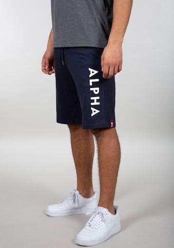 Alpha Industries Sweatshorts »Jersey Short« kaufen
