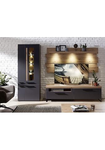 Innostyle Wohnwand »Loft Two«, (3 St.), inklusive LED-Beleuchtung kaufen
