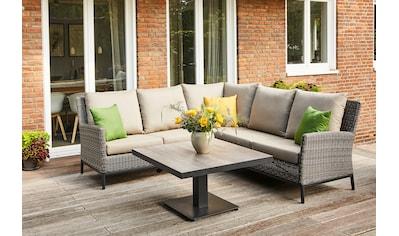 Siena Garden Loungeset »Amira«, inkl. Auflagen kaufen