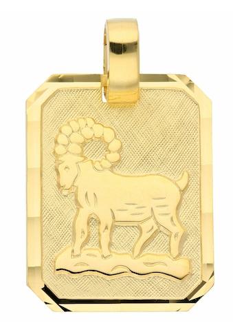 Adelia´s Kettenanhänger »333 Gold Sternzeichen Anhänger Widder«, Goldschmuck für Damen... kaufen