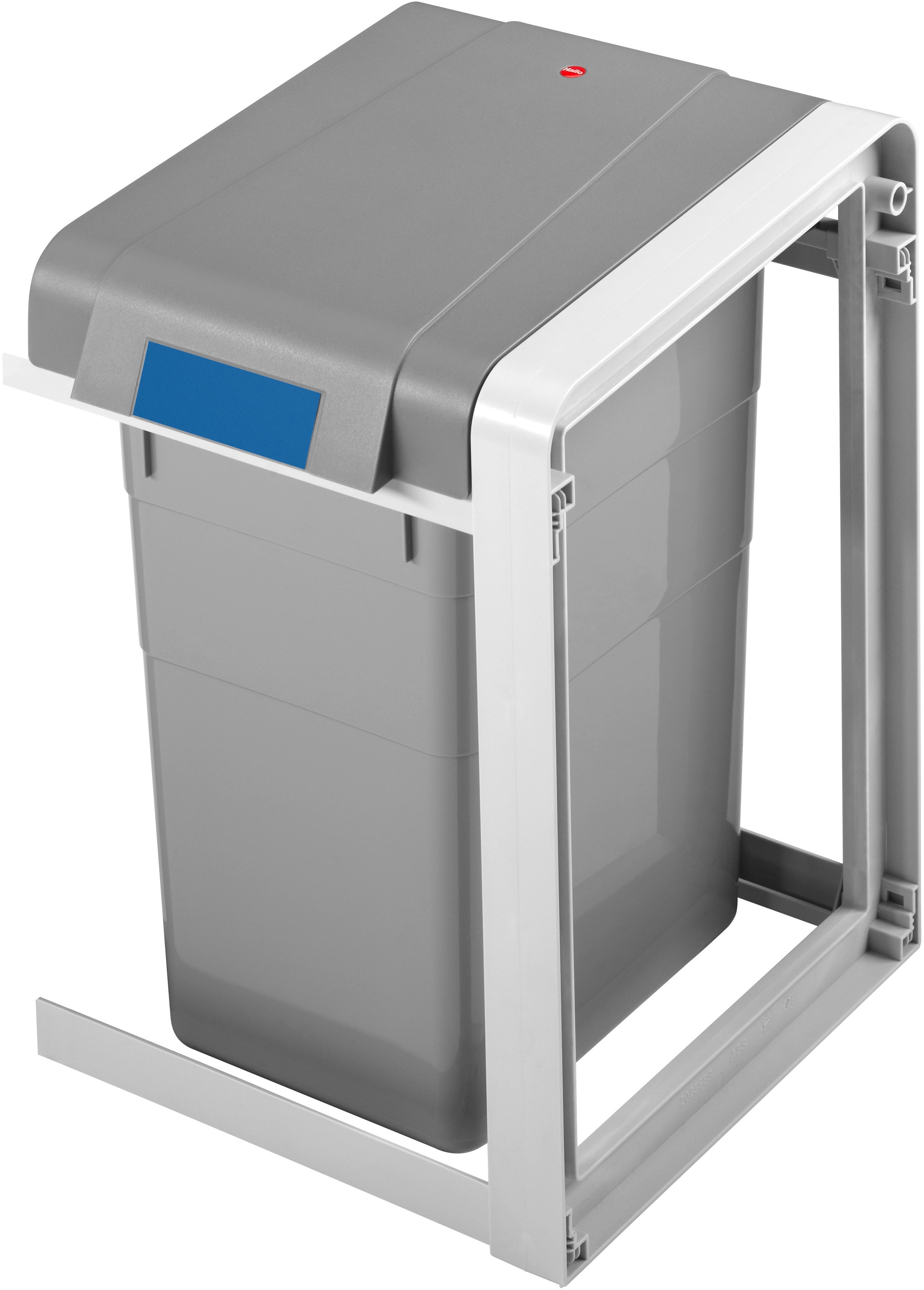 Hailo Mülltrennsystem ProfiLine Öko L,Erweiterungseinheit,19l grau Mülleimer Küchenhelfer Haushaltswaren