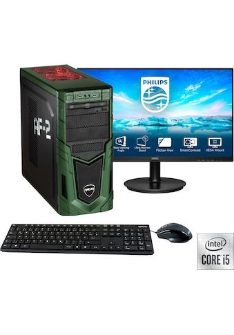 "Hyrican Gaming-PC-Komplettsystem »Military SET02088«, inklusive 27"" Monitor Philips... kaufen"