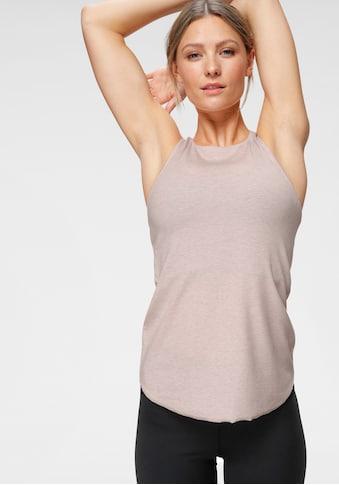 Nike Yogatop »Nike Women's Tank«, Feinrippstruktur kaufen