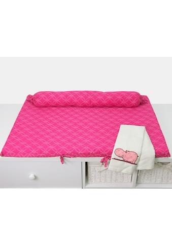 smarTrike® Wickelauflage »toTs Wickelmatte Joy Hippo pink«, mit Rolle kaufen