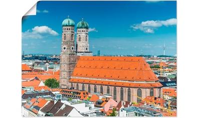 Artland Wandbild »München Frauenkirche« kaufen