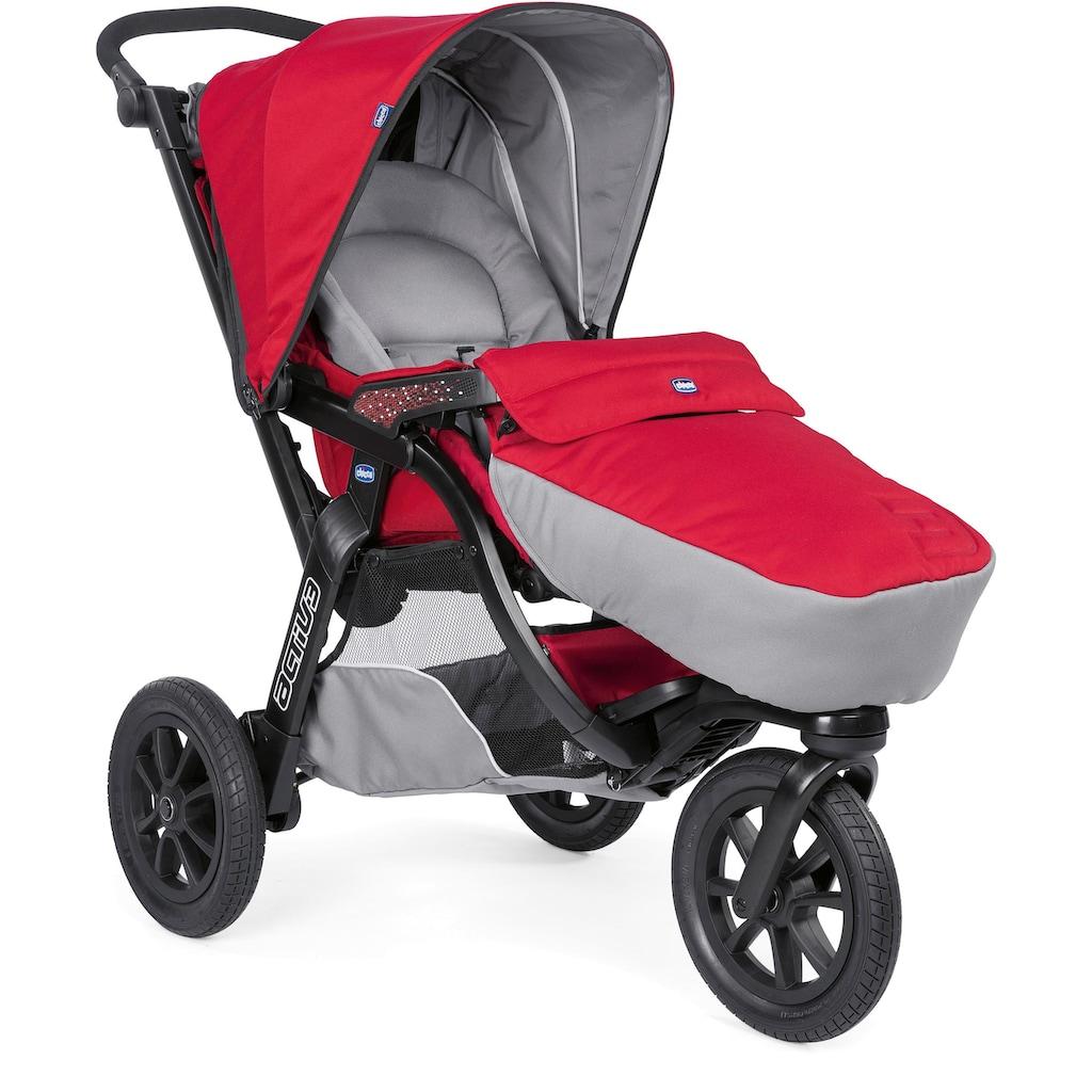 Chicco Kombi-Kinderwagen »Trio-System Activ3 Top, Red Berry«, mit Regenschutz; Kinderwagen