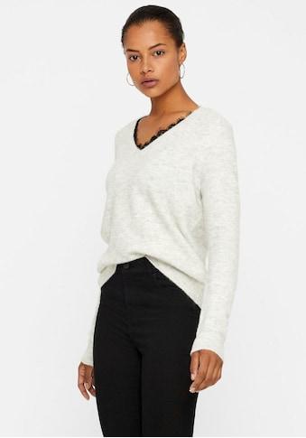 Vero Moda V - Ausschnitt - Pullover »IVA« kaufen