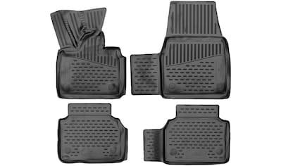WALSER Passform-Fußmatten »XTR«, BMW, i3, Schrägheck, (4 St., 2 Vordermatten, 2... kaufen