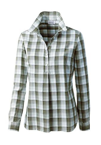 Bluse im lässigem Karodessin kaufen