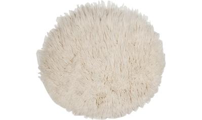 THEKO Wollteppich »Flokati XXL«, rund, 100 mm Höhe, reine Wolle, handgearbeitet,... kaufen