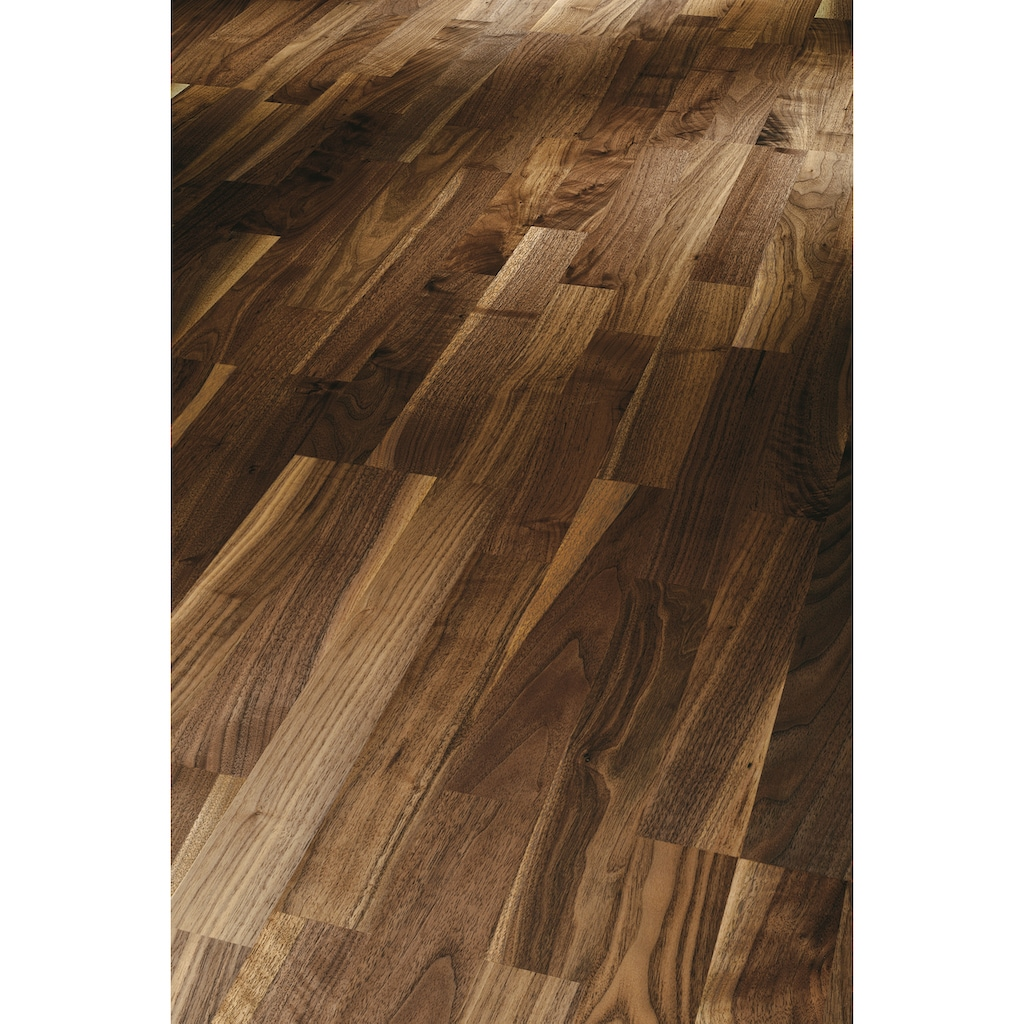 PARADOR Parkett »Classic 3060 Natur - Walnuss amerik.«, ohne Fuge, 2200 x 185 mm, Stärke: 13 mm, 3,66 m²