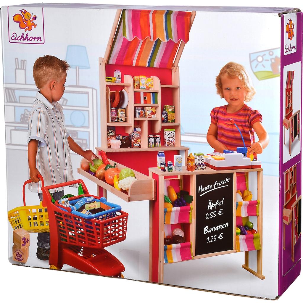 Eichhorn Kaufladen, mit Tafel