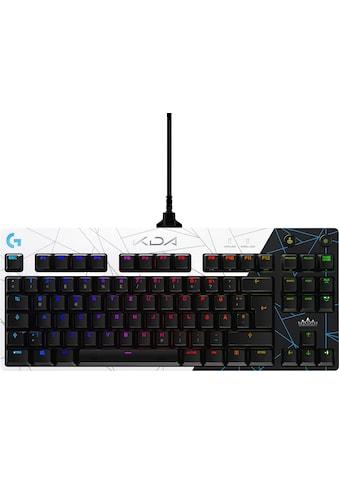 Logitech G Gaming-Tastatur »PRO«, (USB-Anschluss-Funktionstasten-Profil-Speicher) kaufen