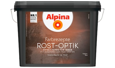 ALPINA : Innenfarbe »Farbrezepte  -  Rost - Optik«, Effektlasur für Innen, 1,2 l kaufen