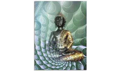 Artland Glasbild »Buddhas Traumwelt CB«, Religion, (1 St.) kaufen