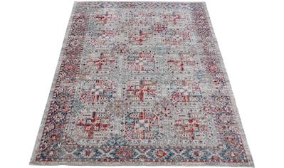 carpetfine Teppich »Mahal«, rechteckig, 3 mm Höhe, Orient Vintage Look kaufen