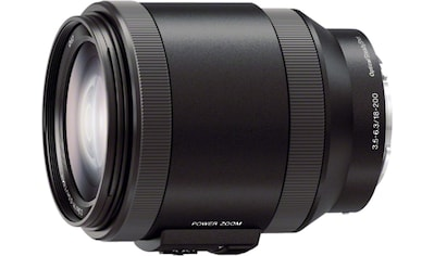 Sony Objektiv »E - Mount - Objektiv 18 - 200 mm F3.5 - 6.3, SELP18200.AE« kaufen