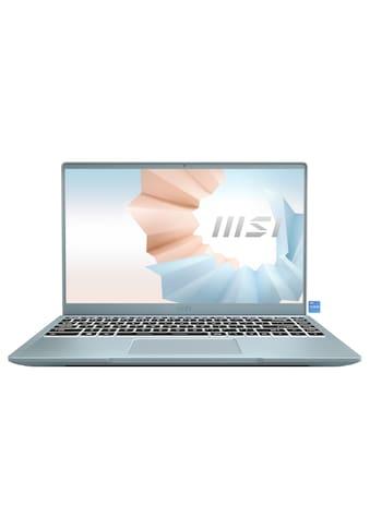 MSI Modern 14 B11SB - 085 Notebook (35,7 cm / 14 Zoll, Intel,Core i7, 512 GB SSD) kaufen
