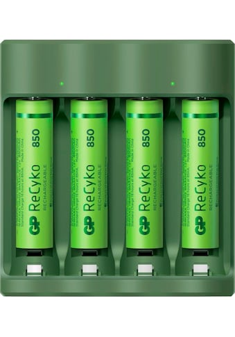 GP Batteries Batterie-Ladegerät »USB-Modell GP B421 4 x ReCyko AAA 850 mAh« kaufen