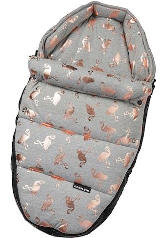 Gesslein Babywanne »Baby Nestchen, grau meliert/Flamingos«, für Kinderwagenwannen,... kaufen