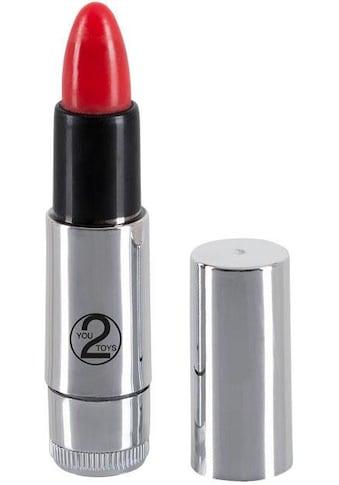 You2Toys Mini-Vibrator »Kiss me Lipstick Vibe«, Form eines Lippenstiftes kaufen