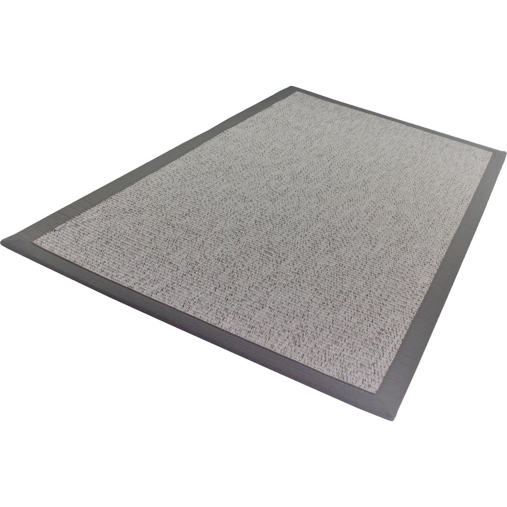Dekowe Teppich »Naturino Classic«, rechteckig, 8 mm Höhe, Flachgewebe, Sisal-Optik, mit Bordüre, In- und Outdoor geeignet, Wohnzimmer