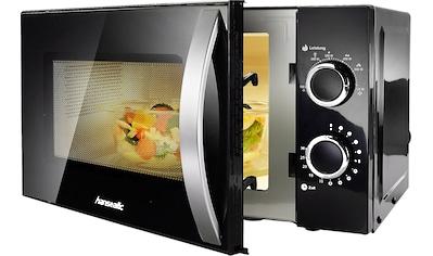 Hanseatic Mikrowelle »76409986«, Mikrowelle, 700 W, Auftaufunktion, schwarz kaufen