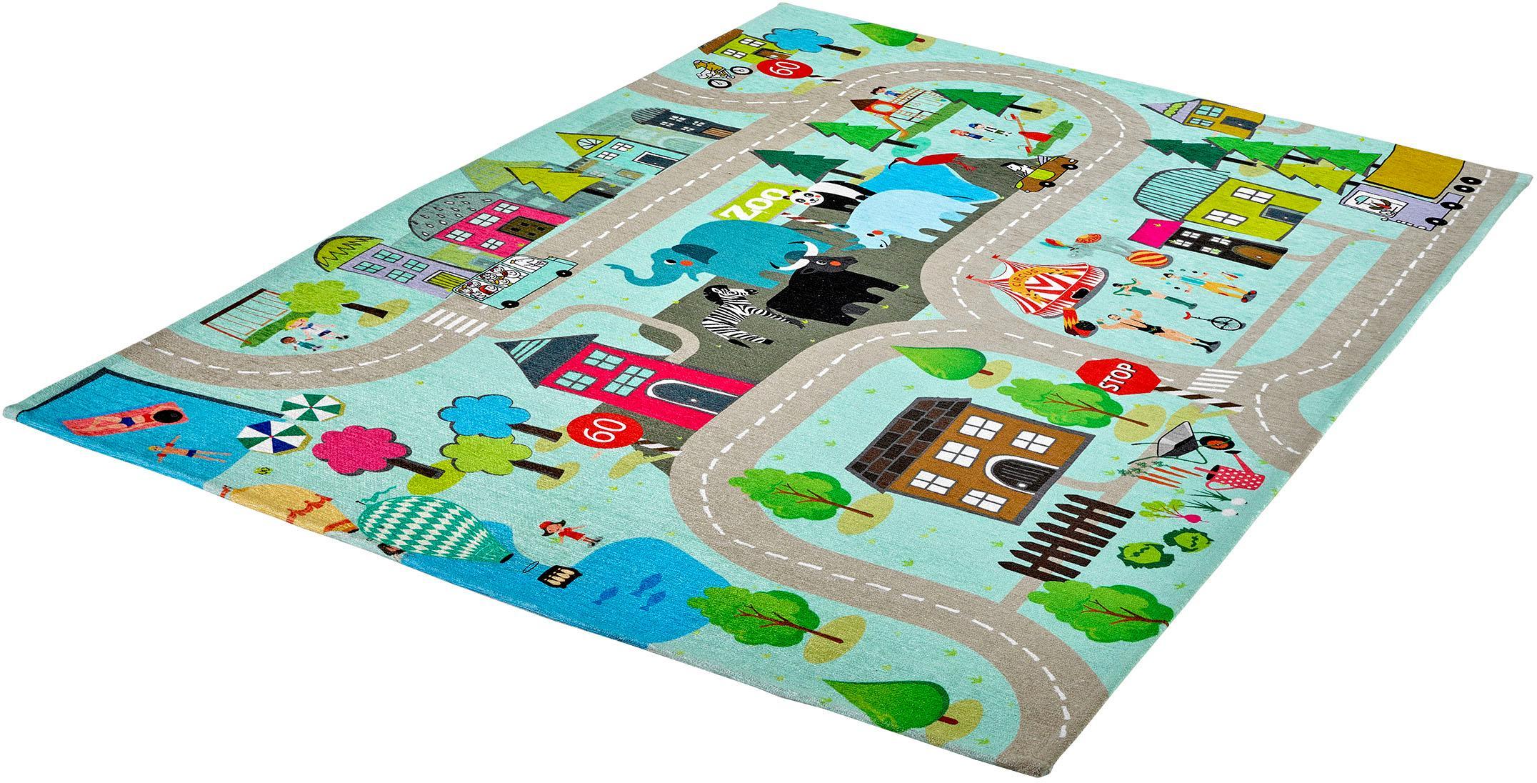 Teppich My Torino Kids 231 Obsession rechteckig Höhe 10 mm maschinell gewebt
