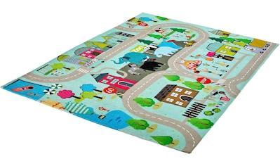 Obsession Kinderteppich »My Torino Kids 231«, rechteckig, 10 mm Höhe, Straßen-Spielteppich kaufen