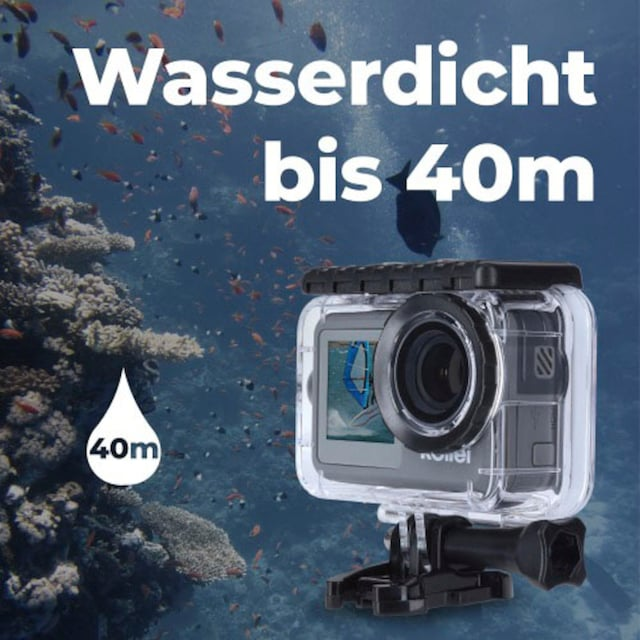 Rollei »9s Plus« Action Cam (4K Ultra HD, WLAN (Wi-Fi))
