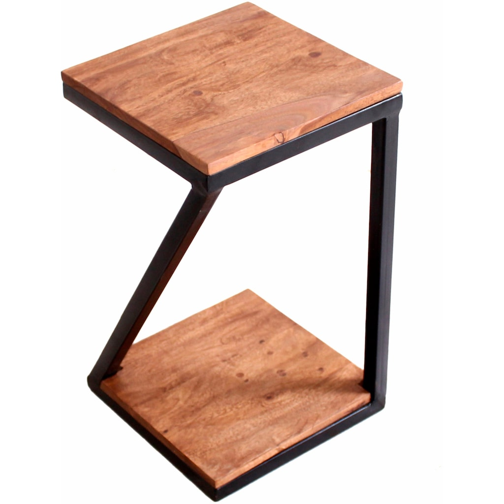 SIT Beistelltisch »Panama«, aus Metall & Massivholz