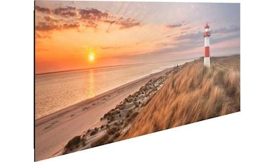 Reinders! Deco-Panel »Leuchtturm Sonnenuntergang« kaufen