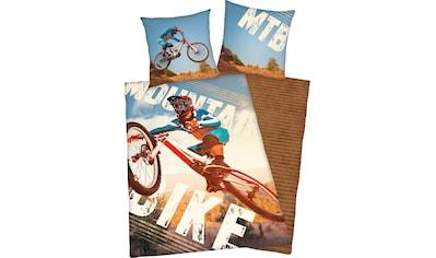 Jugendbettwäsche »Mountainbike«, Herding Young Collection kaufen