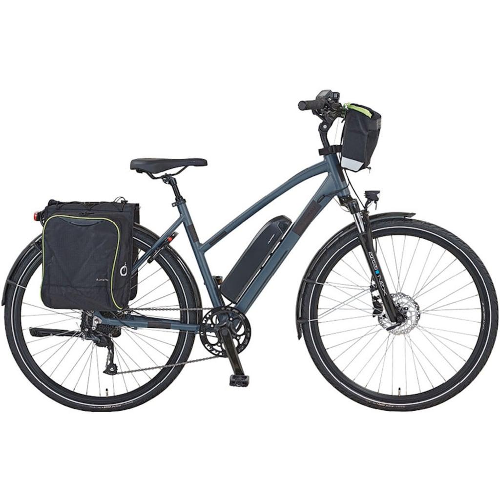 Didi THURAU Edition E-Bike »Alu Trekking«, (mit Schloss)