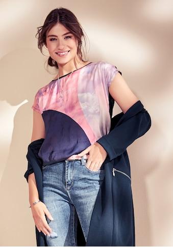 Laura Scott Shirtbluse, in modischem Materialmix - NEUE KOLLEKTION kaufen