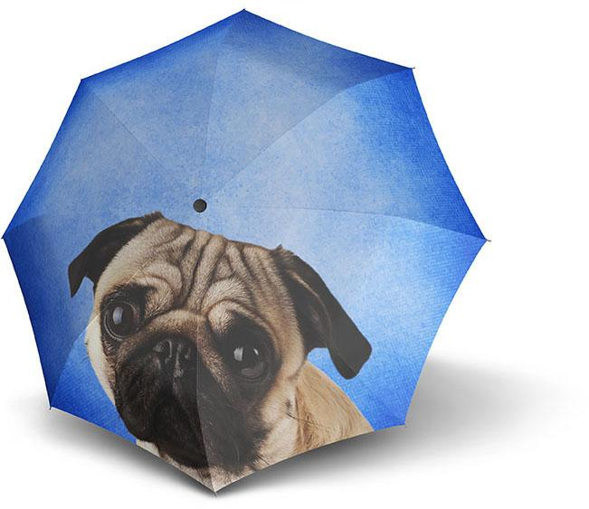 doppler® Regenschirm - Stockschirm, »Modern Art Long Automatic, Lazy Dog« | Accessoires > Regenschirme > Stockschirme | DOPPLER