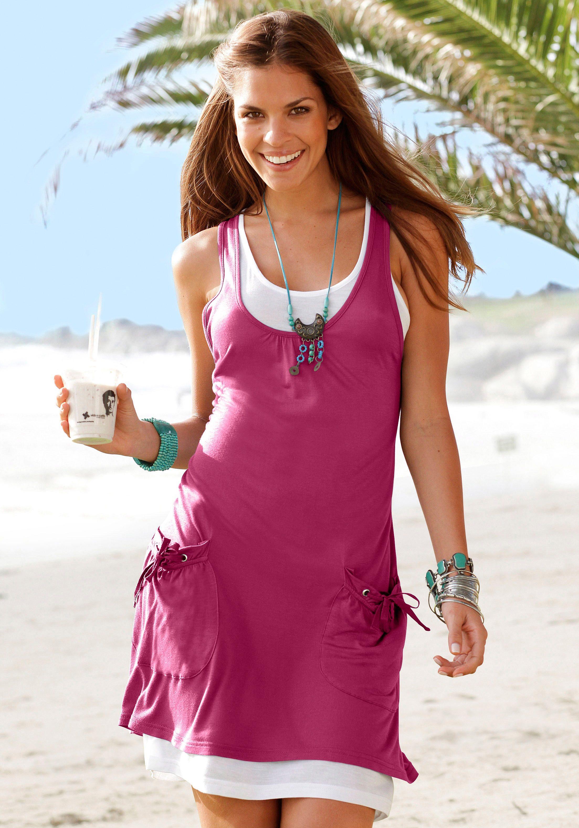 d6b896c795 Beachtime Strandkleid online bei BAUR
