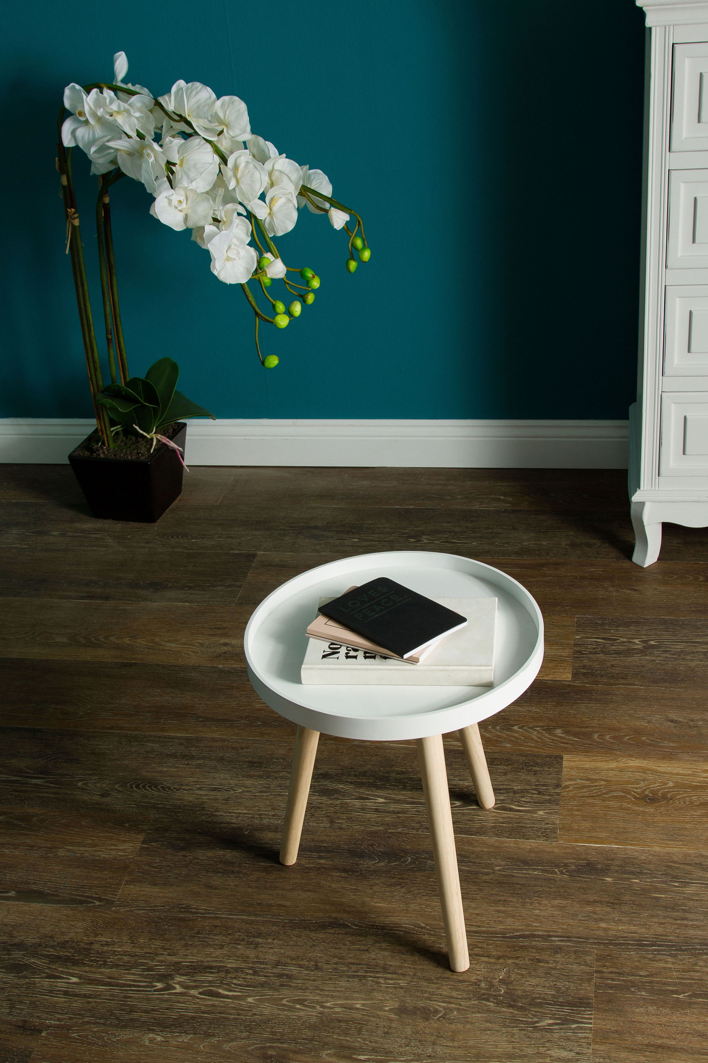 Home affaire Beistelltisch Lieke, weiss - FSC 100% weiß Beistelltische Tische