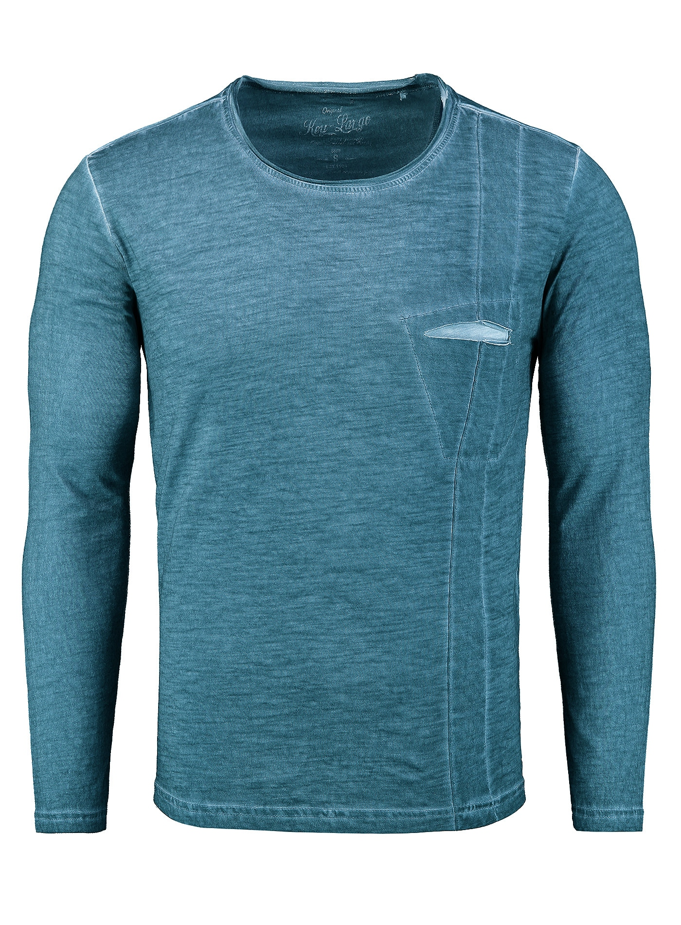 key largo -  Langarmshirt, in sportlichem Design