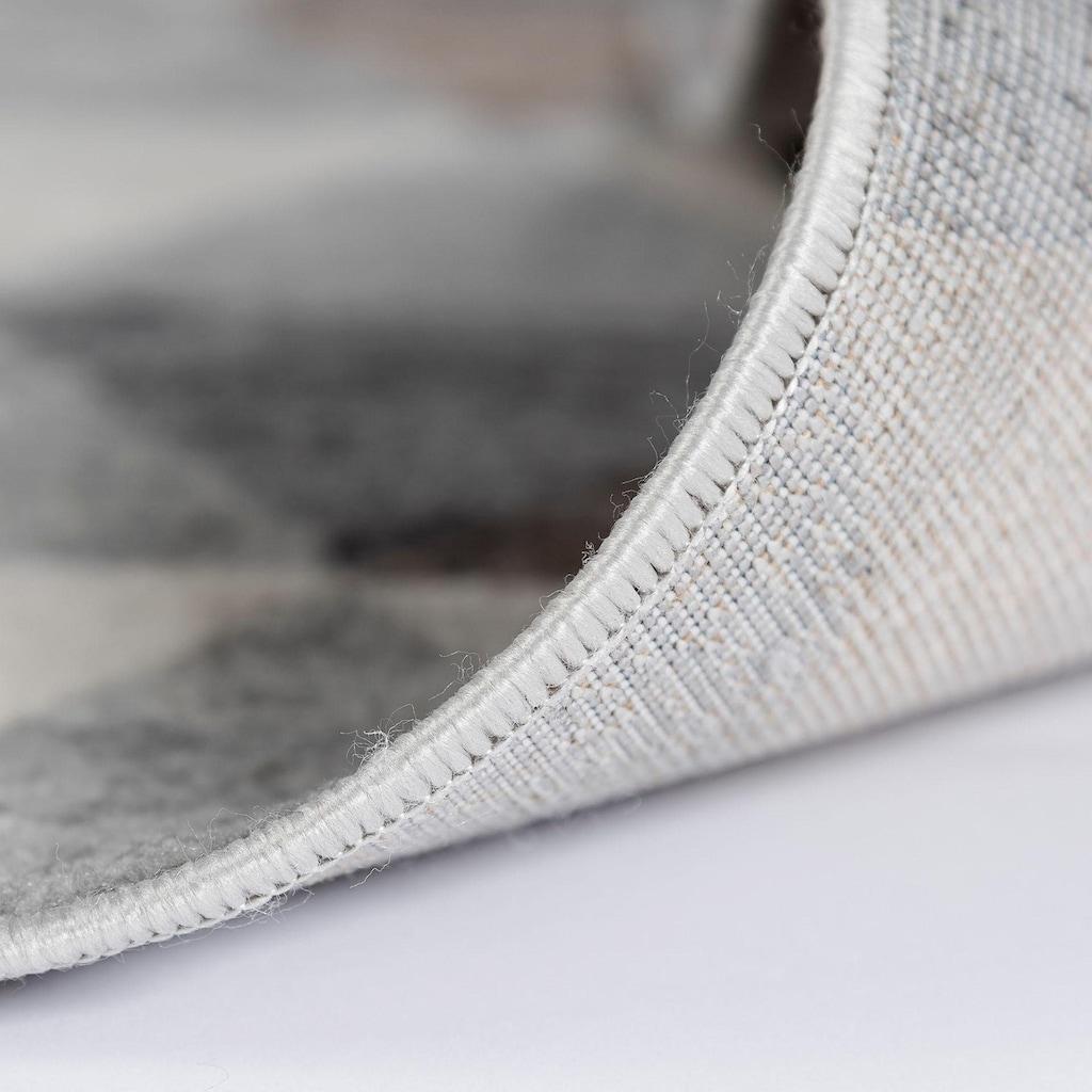 Sehrazat Teppich »Montana 3710«, rechteckig, 8 mm Höhe, Kurzflor, Wohnzimmer